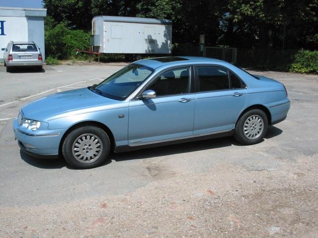 Rover 75 linke seite vorne